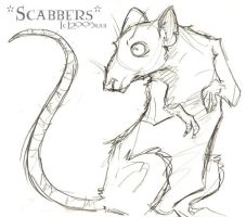 Scabbers - HP by lberghol