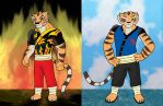 TPPR-Commission: Tiger and Ma-Sha by bico-kun
