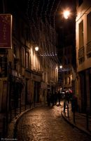 Dark Street in Paris by IgorRybaltchenko