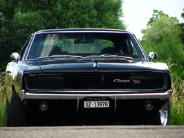 black Charger by AmericanMuscle