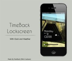 TimeBack Winterboard Lockscreen Theme by Mitch-94