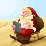 Santa Claus Lost by jordygraph