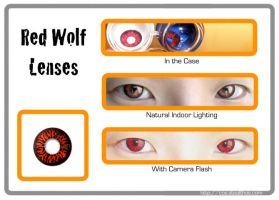 Red Wolf Lenses by Stealthos-Aurion