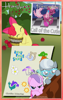MLP : Call of the Cutie - Movie Poster by pims1978
