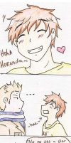 4koma :Holland and Spain by SparxPunx
