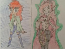 (Request) .:Tanya as Emotion and Aseranaa:. by CottonCatTailToony