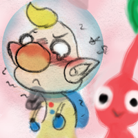 Pikmin: Doodle - *Sniff* Olimar... by saiiko