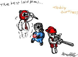 Teddy Fortress best laid plans by G-Off92
