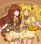 Clockwork Hearts Precure by Frogberri