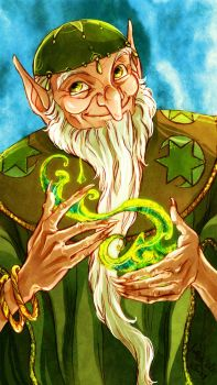 The Green Wizard by DrMistyTang