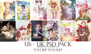 [PSD] US-UK Pack by BiLyBao