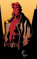 Hellboy by Bemannen