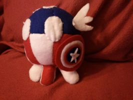 AvengePOOTS: Capt. AmeriPOOT by BaGgY666