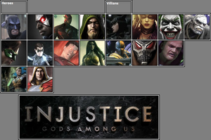 Official Injustice: GAU Roster as of 2-16-13 by xXKyraRosalesXx