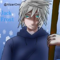 Jack frost from Rise of the guardians by MizariOmi