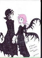 Kid and Crona- A Thousand Years Together by avril9