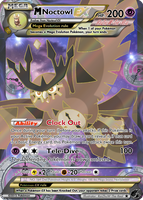 #164 Mega Noctowl EX by RaiZhuW-The-Real