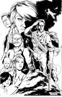 uncharted 3 inked by jpdeshong