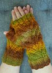 Autumn Mitts by FearlessFibreArts