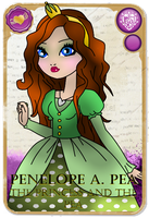 Penelope A. Pea by IllegalSympathy