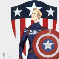 Captain America 2: The Winter Soldier by Guinicius