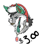 Xmas Bust Commissions OPEN by DoubleRainbowBear