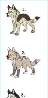 Pups Adoptions 1. CLOSED by MichelsAdoptions