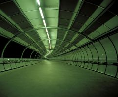 Empty Green Tunnel Redux by grae-hall