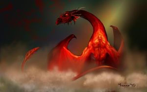 dragon wallpaper by Hagge