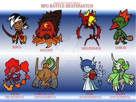 RPGBD - Baddies Set 1 by The-Knick