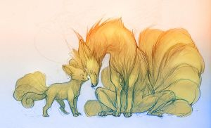 Tails errywhere by sarya