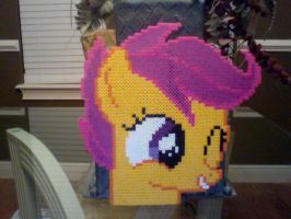 Giant Perler Bead Emote: Cutealoo by Perler-Pony