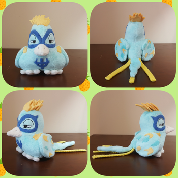 One Piece Marco the Phoenix Bird Plush Commission by Dawning-Love