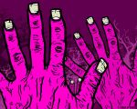 zombie hands wallpaper II by creative-decay