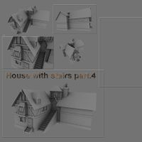 House with stairs part.4 by DennisH2010