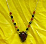 Red Devil Necklace by ppunker