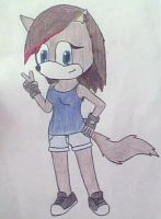 Re-do: Stellaluna the Wolf by handcuffs4ever