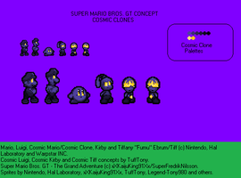 SMBGT-TGA Cosmic Clones Sprite Concept ::UPDATE:: by TuffTony