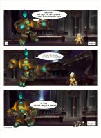 World of Warcraft-comic 1 (XT + Blingtron) by Serendiadotde