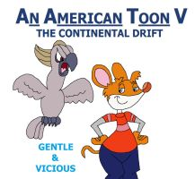 An American Toon V Poster - Gentle and Vicious by HunterxColleen