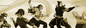 The Founders (Sepia) by elven-thespian