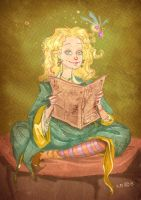 Luna Lovegood by zeynepozatalay