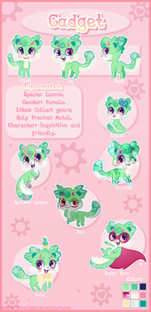 Com  Gadget Reference Sheet  By White Moonlight-d9 by Mimiero