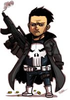 Little : Punisher by ChickenzPunk