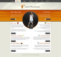 Web 2.0 Media Template by princepal