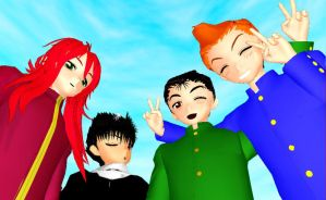 MMD YYH Boys Newcomers by MiraMiraDance