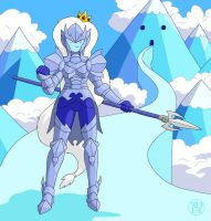 Armored Ice Queen by -coldfusion-