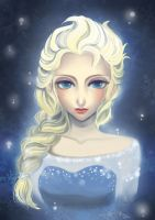 Frozen : Elsa by Yingrutai