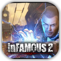 InFAMOUS 2 Game Icon by Wolfangraul