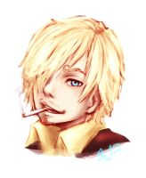 Sanji by kelcyXjoy